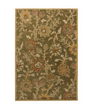 RugStudio presents Chandra Int INT-13483 Green Hand-Tufted, Good Quality Area Rug