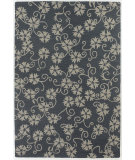 RugStudio presents Chandra Int INT-13484 Blue / Grey Hand-Tufted, Good Quality Area Rug