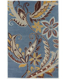 RugStudio presents Chandra Int INT-13488 Blue / Multi Hand-Tufted, Good Quality Area Rug
