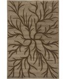RugStudio presents Chandra Int INT-13490 Brown Hand-Tufted, Good Quality Area Rug