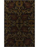 RugStudio presents Chandra Int INT-13491 Chocolate Hand-Tufted, Good Quality Area Rug