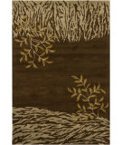 RugStudio presents Chandra Int INT-13492 Brown Hand-Tufted, Good Quality Area Rug