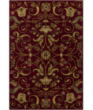 RugStudio presents Chandra Int INT-13493 Burgundy Hand-Tufted, Good Quality Area Rug