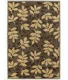 RugStudio presents Chandra Int INT-13494 Cream / Brown Hand-Tufted, Good Quality Area Rug