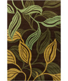 RugStudio presents Chandra Int INT-30002 Chocolate Hand-Tufted, Good Quality Area Rug