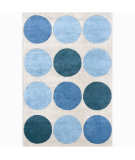 RugStudio presents Chandra Int INT-30006 Blue Hand-Tufted, Good Quality Area Rug