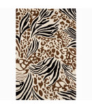 RugStudio presents Chandra Int INT-30008 Ivory Hand-Tufted, Good Quality Area Rug