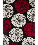 RugStudio presents Chandra Int INT-30012 Black Hand-Tufted, Good Quality Area Rug