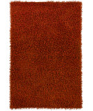 RugStudio presents Chandra Int INT-30034 Dark Orange Woven Area Rug