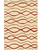 RugStudio presents Chandra Janelle Style JAN2606 Cream Hand-Tufted, Good Quality Area Rug