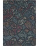 RugStudio presents Chandra Jewels Jew31800 Grey/Blue/Red/Orange/Cream Hand-Tufted, Good Quality Area Rug