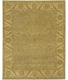 RugStudio presents Chandra Kamala KAM1501 Green Hand-Knotted, Good Quality Area Rug