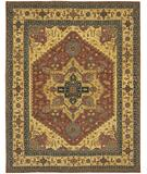 RugStudio presents Chandra Kamala KAM1509 Red Hand-Knotted, Good Quality Area Rug