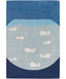 RugStudio presents Chandra Kids KID7623 Multi Hand-Tufted, Good Quality Area Rug