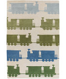 RugStudio presents Chandra Kids KID7625 Off white Hand-Tufted, Good Quality Area Rug