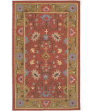 RugStudio presents Chandra Kilim Kil2249 Red Woven Area Rug