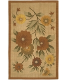 RugStudio presents Chandra Kilim KIL2212 Beige Woven Area Rug