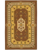 RugStudio presents Chandra Kilim KIL2218 Brown Woven Area Rug
