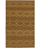 RugStudio presents Chandra Kilim KIL2227 Brown Woven Area Rug