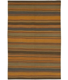 RugStudio presents Chandra Kilim KIL2233 Orange/Multi Woven Area Rug