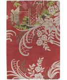 RugStudio presents Chandra Kronos KRO6300 Red Hand-Tufted, Good Quality Area Rug