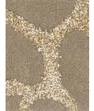 RugStudio presents Chandra Liberty LIB14901 Light Brown Hand-Tufted, Good Quality Area Rug