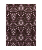 RugStudio presents Chandra Lina Lin32000 Purple Hand-Tufted, Good Quality Area Rug