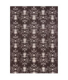 RugStudio presents Chandra Lina Lin32002 Charcoal/Grey Hand-Tufted, Good Quality Area Rug