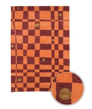 RugStudio presents Chandra Lost Link LOS1811 Pumpkin Hand-Tufted, Good Quality Area Rug