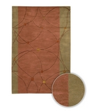 RugStudio presents Chandra Lost Link LOS1812 Multi Hand-Tufted, Good Quality Area Rug