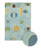 RugStudio presents Chandra Lost Link LOS1813 Multi Hand-Tufted, Good Quality Area Rug