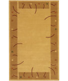 RugStudio presents Chandra Metro MET502 Gold Hand-Tufted, Good Quality Area Rug