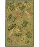 RugStudio presents Chandra Metro MET511 Green Hand-Tufted, Good Quality Area Rug