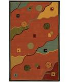 RugStudio presents Chandra Metro MET537 Red Hand-Tufted, Good Quality Area Rug