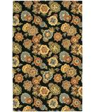 RugStudio presents Chandra Metro MET553 Black Hand-Tufted, Good Quality Area Rug