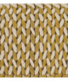 RugStudio presents Chandra Milano Mil24501 Gold Woven Area Rug