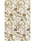 RugStudio presents Chandra Nandi NAN8101 Beige Hand-Tufted, Good Quality Area Rug