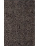 RugStudio presents Chandra Navya NAV5004 Chocolate Brown Hand-Tufted, Good Quality Area Rug