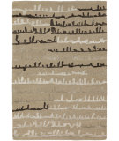 RugStudio presents Chandra Navya NAV5007 Khaki Hand-Tufted, Good Quality Area Rug