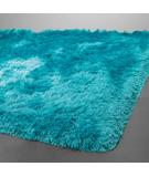 RugStudio presents Chandra Naya NAY18810 cyan Woven Area Rug