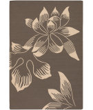 RugStudio presents Chandra Nova NOV3802 Taupe Flat-Woven Area Rug