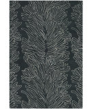 RugStudio presents Chandra Parson Gray Par31100 Charcoal/Grey Hand-Tufted, Good Quality Area Rug