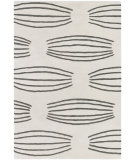 RugStudio presents Chandra Parson Gray Par31101 Ivory/Charcoal Hand-Tufted, Good Quality Area Rug