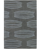 RugStudio presents Chandra Parson Gray Par31102 Charcoal/Blue Hand-Tufted, Good Quality Area Rug