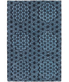 RugStudio presents Chandra Parson Gray Par31105 Navy/Blue Hand-Tufted, Good Quality Area Rug