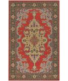 RugStudio presents Chandra Pooja POO406 Multi Hand-Knotted, Good Quality Area Rug