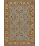 RugStudio presents Chandra Pooja Poo437 Multi Hand-Knotted, Good Quality Area Rug