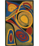 RugStudio presents Chandra Rain Rai808 Multi Hand-Tufted, Good Quality Area Rug