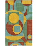 RugStudio presents Chandra Rain RAI809 Multi Hand-Tufted, Good Quality Area Rug