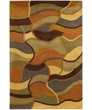 RugStudio presents Chandra Rain RAI811 Multi Hand-Tufted, Good Quality Area Rug